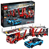 LEGO Technic Car Transporter 42098 Toy Truck and Trailer Building Set with Blue Car, Best Engineering and STEM Toy for Boys and Girls, New 2019 (2493 Pieces) (Color: Multi)