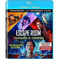 Escape Room: Tournament of Champions [Blu-ray]