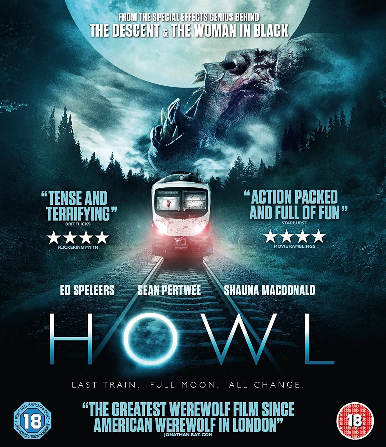 Howl Blu-Ray Cover