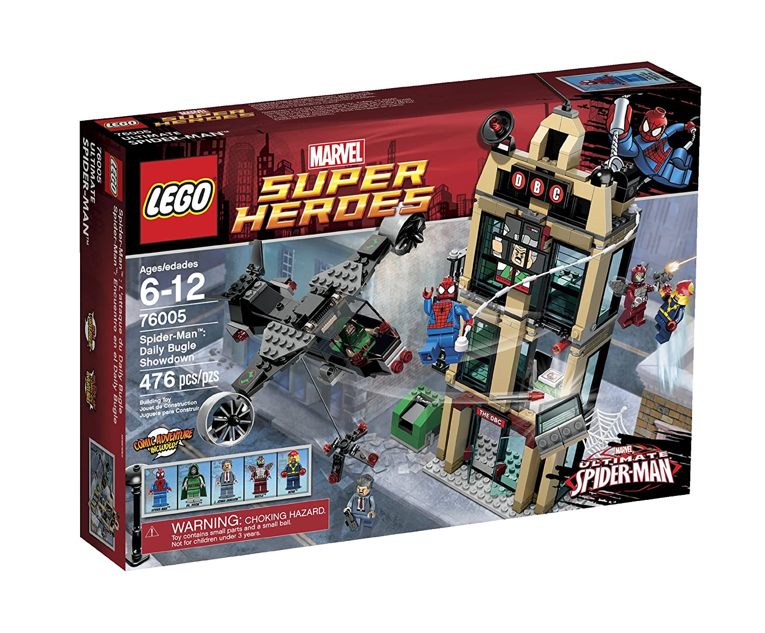 LEGO Super Heroes Daily Bugle Showdown