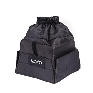 Movo Photo SB6 Universal Cloth Softbox Flash Diffuser with Elastic Mounting for External Camera Flashes (Size: Mini)