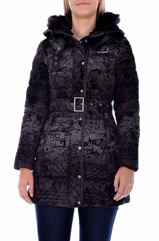 Desigual Damen Mantel Roxana + Gefällt mir! Sticker jetzt bestellen