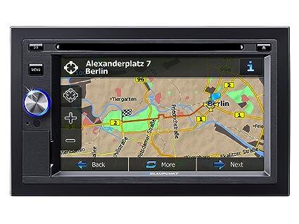 Blaupunkt 1011303530-001 Autoradio CD/DVD 2 x USB Noir