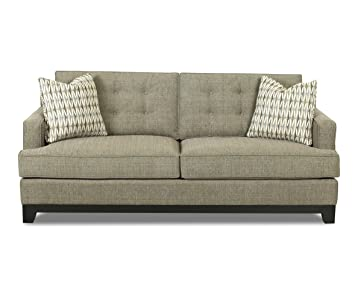 Klaussner Herb Alderman Sofa, 82 by 36 by 33-Inch