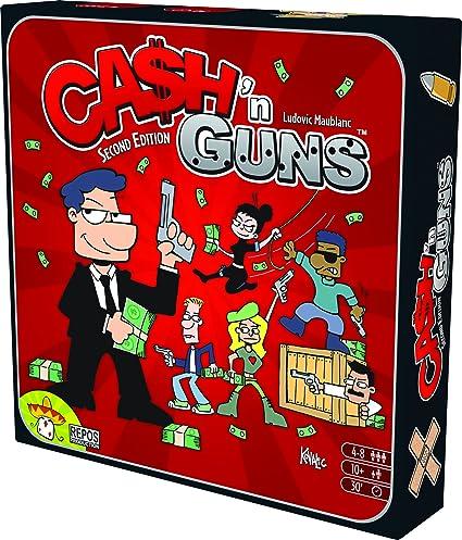 Asmodee 692255–Jeu de Société–Cash N Guns