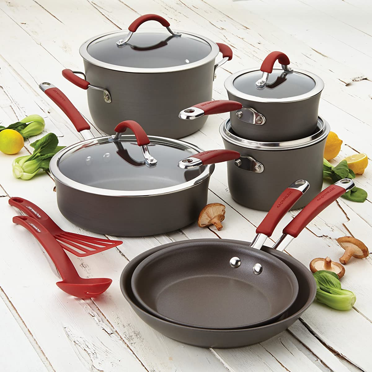 Rachael Ray Cookware Set via Amazon