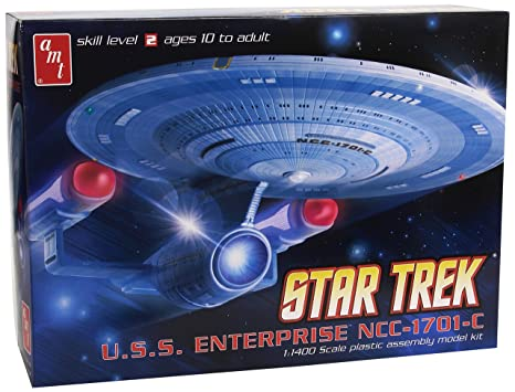 Amt Star Trek USS Enterprise 1701 C Modèle Kit