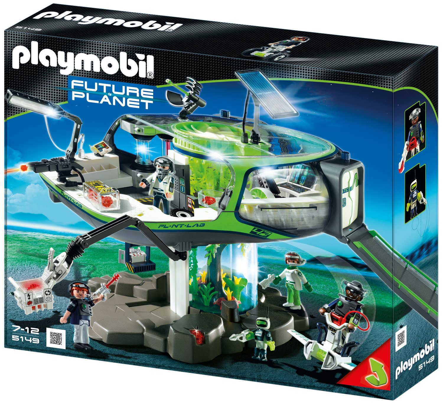 PLAYMOBIL® E-Rangers Future Base (5149)