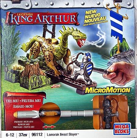 Mega Bloks - 96112 - Micro Motion - King Arthurs Legende - Lamorak Beast Slayer - 37 pcs