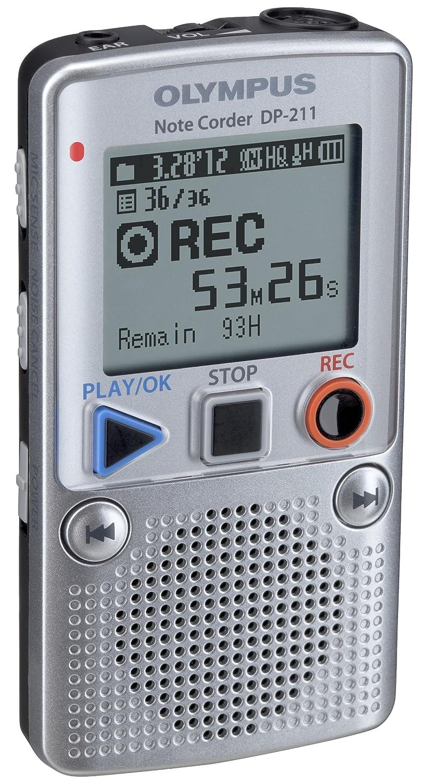 Dictaphone et Magn�tophone OLYMPUS DP211 GRIS