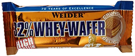Weider Whey Wafer Bar Hazelnut 24x35g, 1er Pack (1 x 840 g)