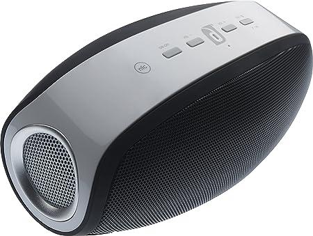 Damson Vulcan Haut Parleur Portable Sans Fil Bluetooth avec 3.5mm Jack Compatible avec Smartphones, Tablettes, MP3  iPhone 3/3G/3GS/4/4S/5/5S/5C/6/6 Plus/6/6 Plus/6/6 Plus/6/6 Plus, iPad 2/3/4/Mini/Air, iPod Nano 7, iPod Touch 5, Samsung Galaxy S2/S3/S4/S