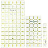 Omnigrid Ruler Value Pack, 3 Sizes: R1, R12, R48G (Color: Basics)