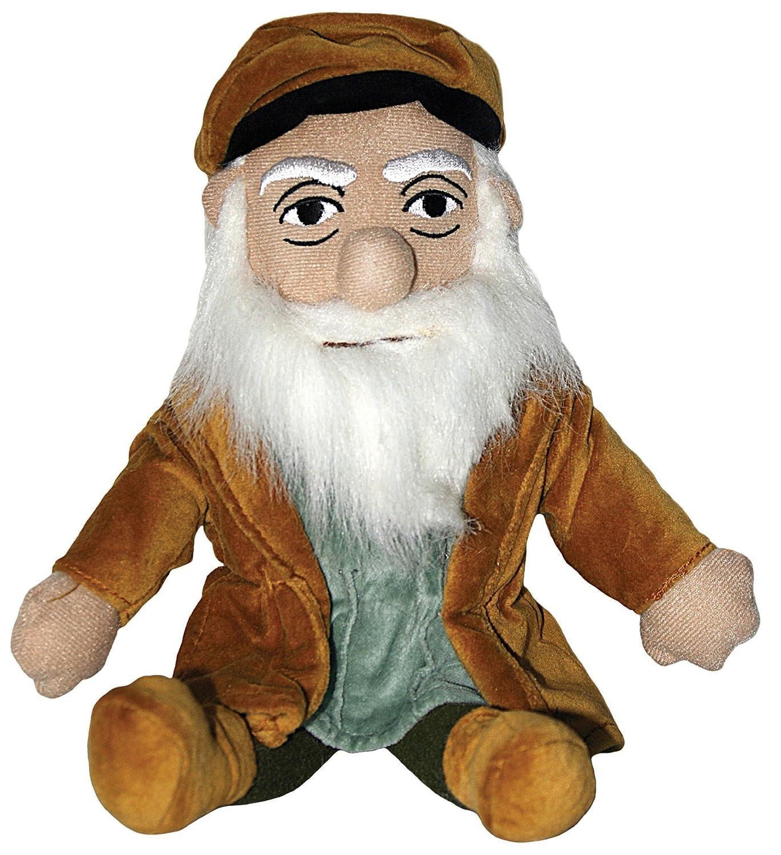 Leonardo da Vinci plush doll