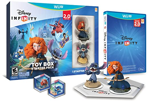 Amazon - Disney INFINITY: Toy Box Starter Pack (2.0) Wii U - $13.54