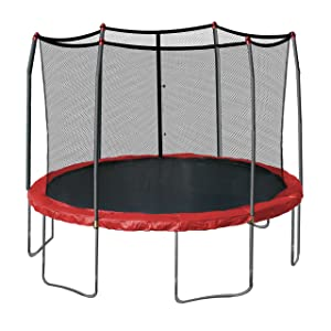 Skywalker-Trampolines 12-Feet-Round-Trampoline-and-Enclosure-with-Spring -Pad