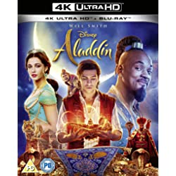 Aladdin [2019] [4K Ultra HD + Blu-ray]