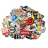 STICON 100 Pieces Vinyl Waterproof Stickers for Car, Laptop, Luggage, Skateboard, Motorcycle, Bicycle Decal Graffiti Patches (Series B) (Color: Series B)