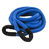 DitchPig 447051 Kinetic Energy Vehicle Recovery Double Nylon Braided Rope with Tote Bag, 1/2