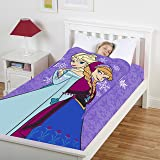 Disney Frozen Elsa and Anna Zippy Sack (Color: Frozen, Tamaño: Twin)