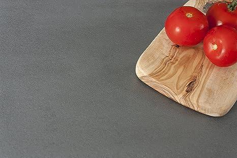 Betonoptik - Resopal Kuchenarbeitsplatten (3m × 900mm × 38mm)