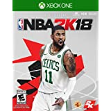Nba 2K18 Standard Edition - Xbox One (Color: Red Black Grey)