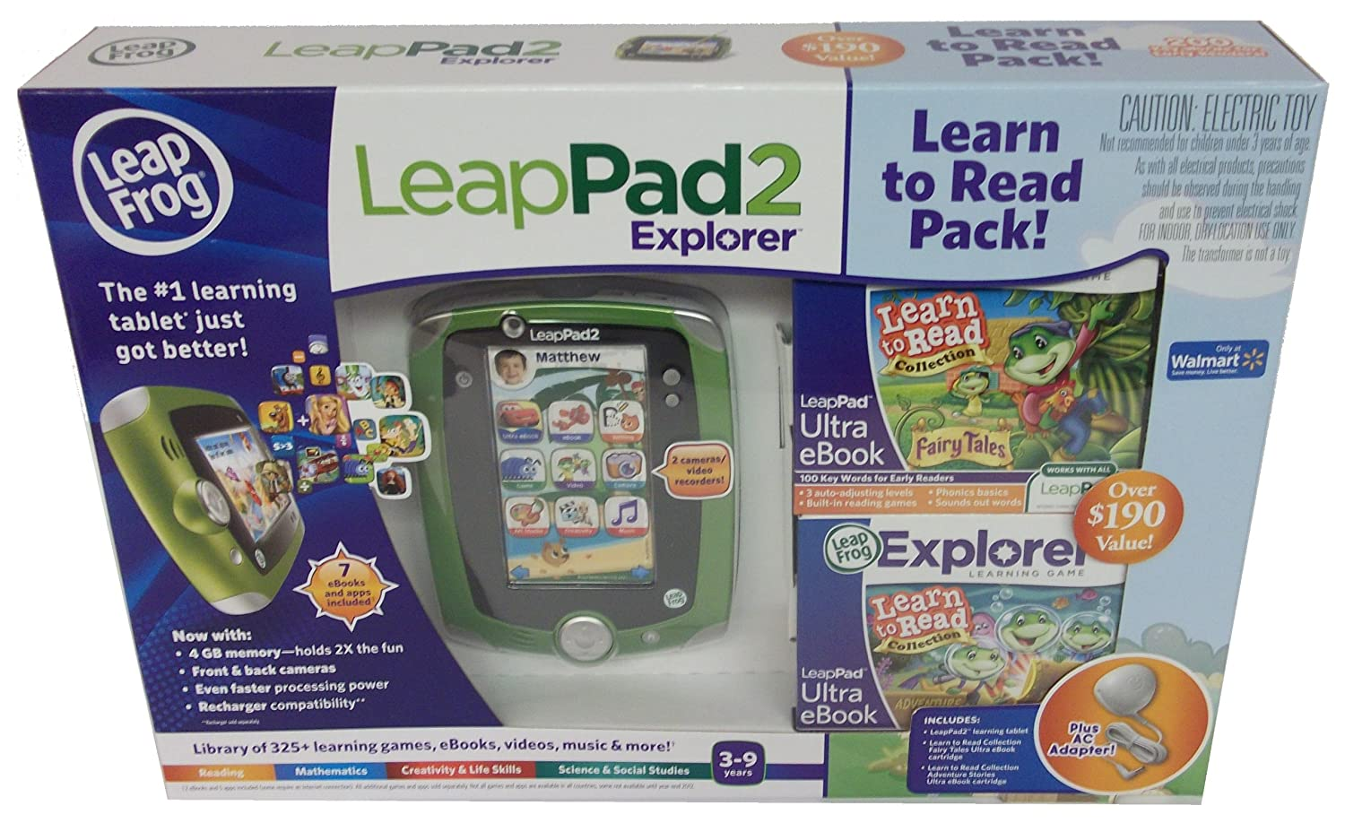 863f14d4dea B007U7M0WM LeapFrog LeapPad2 Recharger Pack (Works only with LeapPad2)