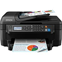 Epson WF-2750DWF Wireless Color Inkjet All-in-One Printer (Black)