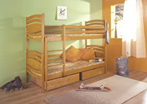 Marcel Bunk Bed made from Pine Wood       review and more description