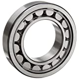 SKF NJ 207 ECJ/C3 Cylindrical Roller Bearing, Single Row, Removable Inner Ring, Flanged, Straight Bore, High Capacity, C3 Clearance, Steel Cage, Metric, 35mm Bore, 72mm OD, 17mm Width