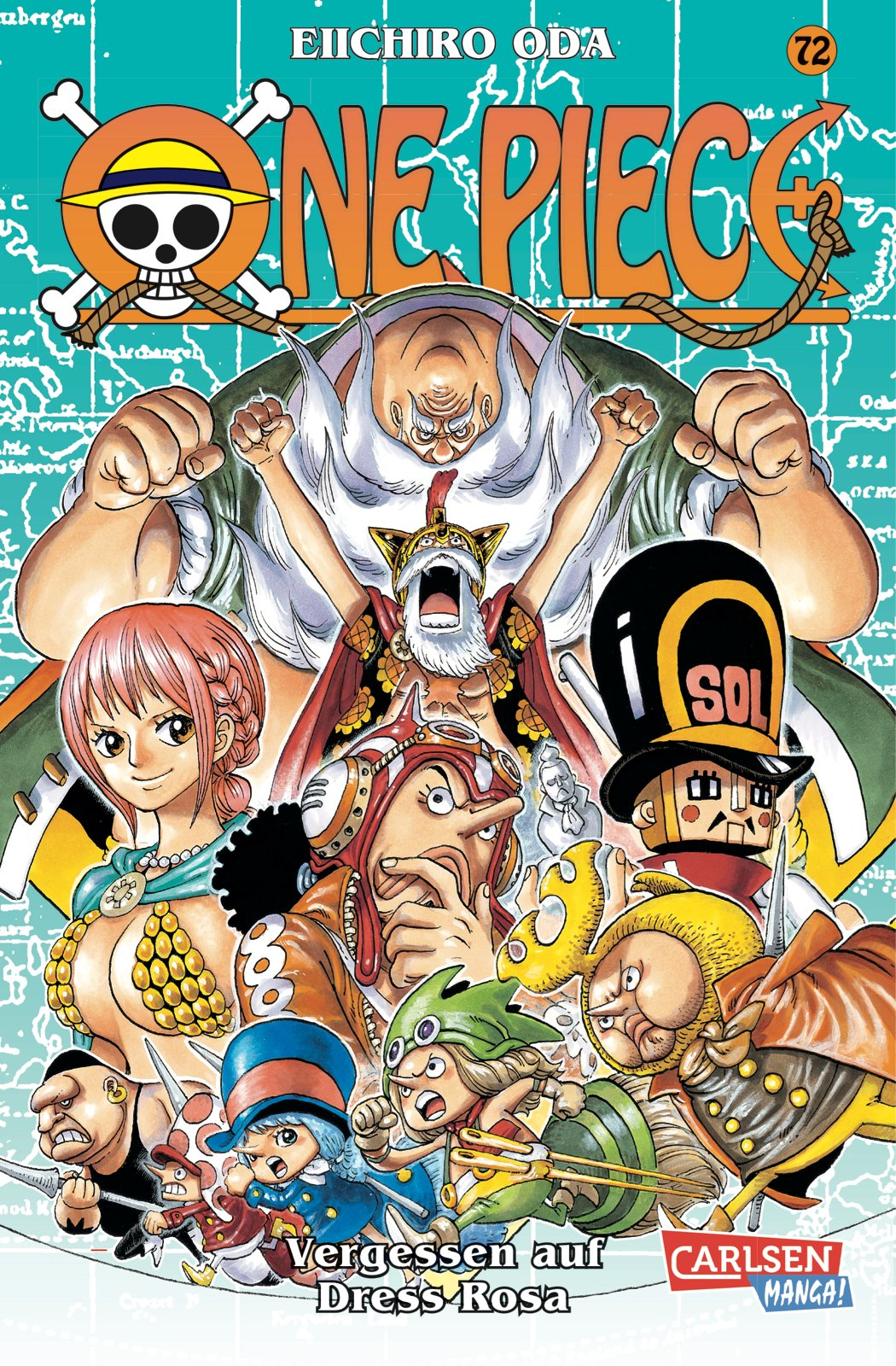 One Piece, Band 72