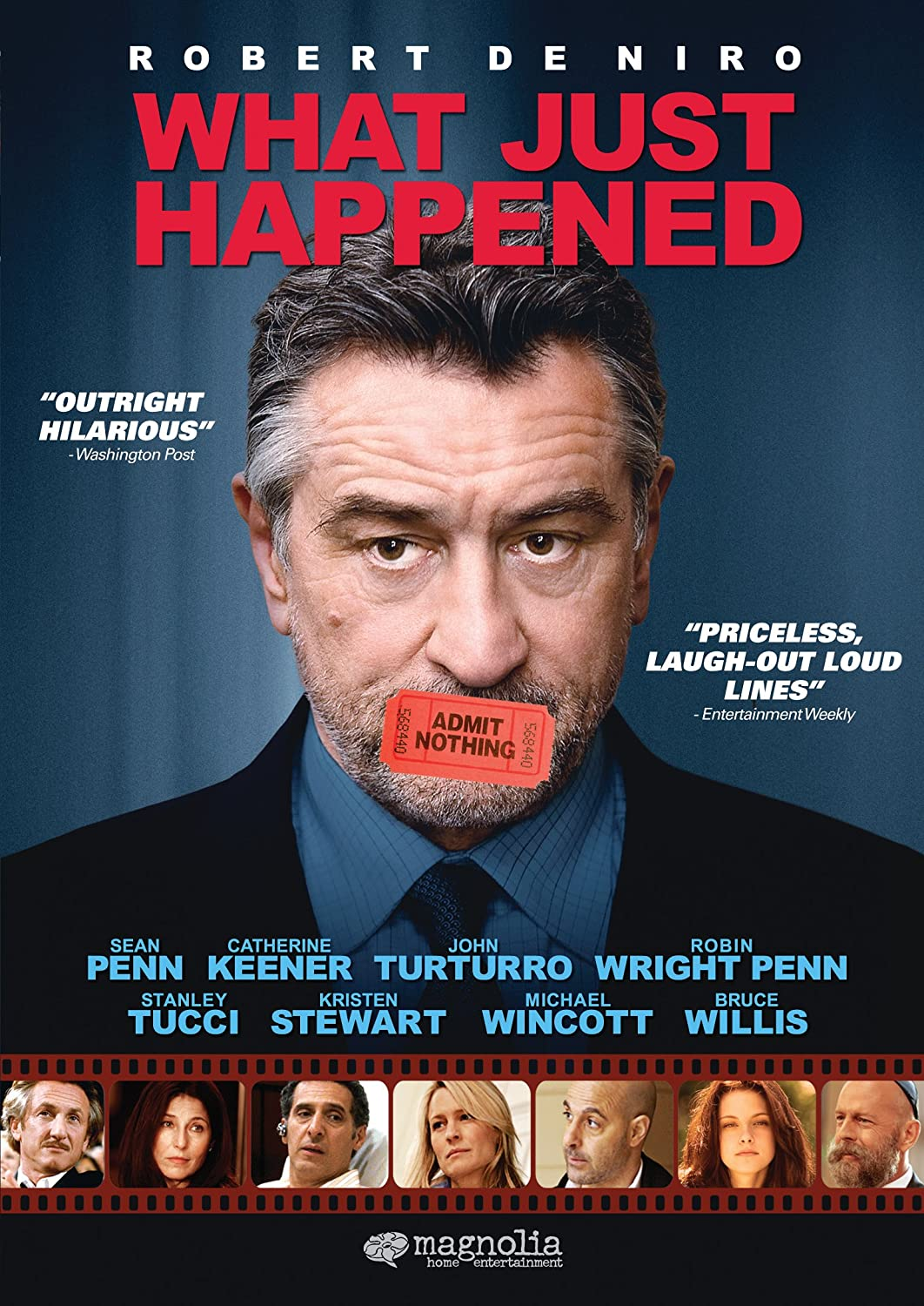 What Just Happened? Cover