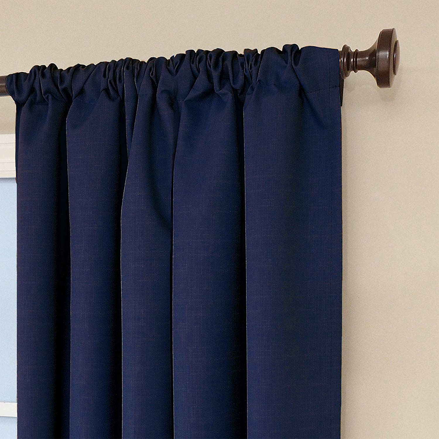 ... Kendall Blackout Thermal Curtain Panel,Denim,84 -Inch , 1 Panel, NEW
