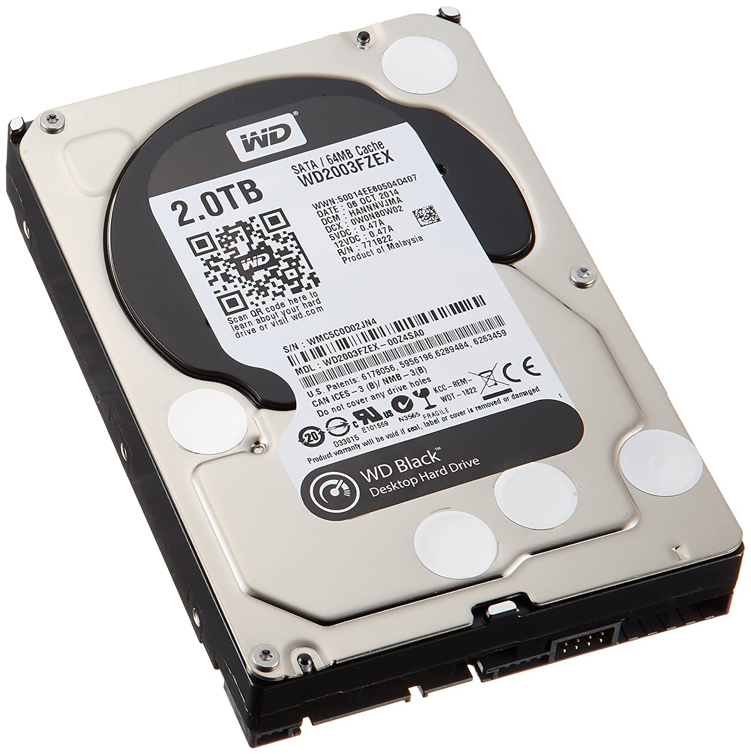 WD Black 2TB Performance Desktop Hard Drive
