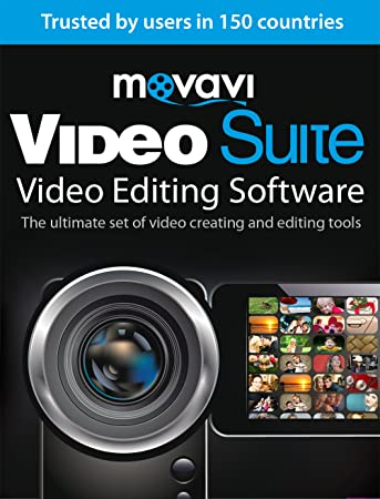 Movavi Video Suite 15 Video Editing Software Personal [Download]