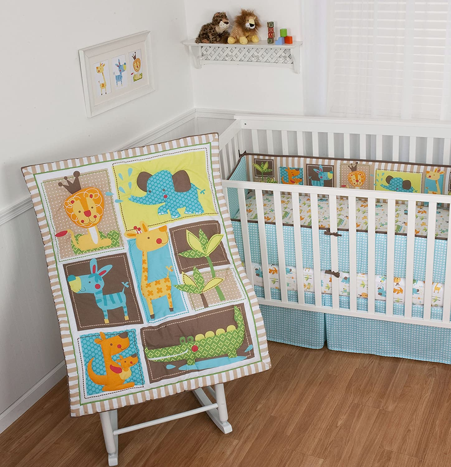 Sumersault King of the Jungle Baby Bedding