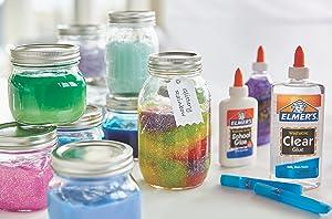 Elmer's Liquid School Glue, White, Washable, 32 Ounces - Great for Making Slime (Color: Washable, Tamaño: 1 Quart)