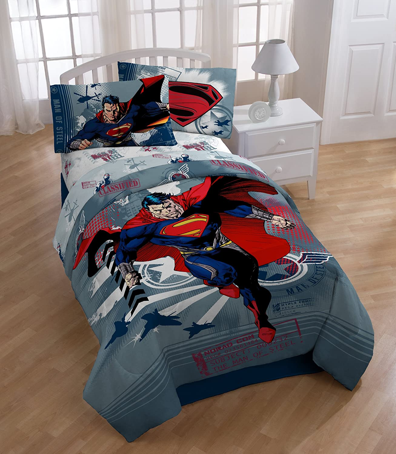 Superman Themed Bedroom: Totally Kids, Totally Bedrooms