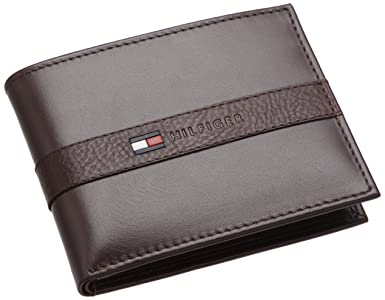 Tommy Hilfiger Mens Ranger Passcase, Brown, One Size ,$15.06