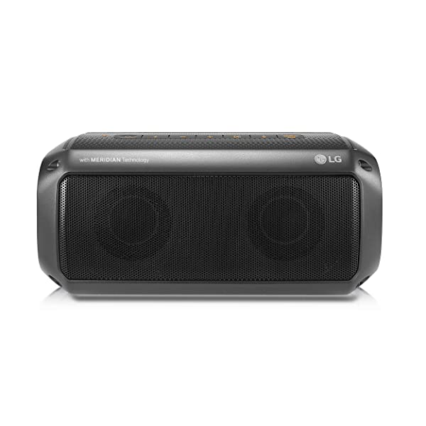 LG PK3 Xboom Go Waterproof Wireless Bluetooth Speaker with up to 12 Hour Playback (2018)