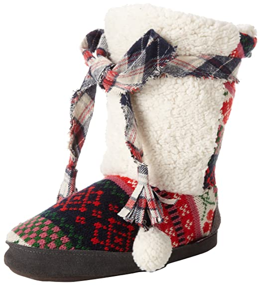Hot Girls Clothing & Accessories:Muk Luks Women's Jewel Mix It Up Slipper Bootie review