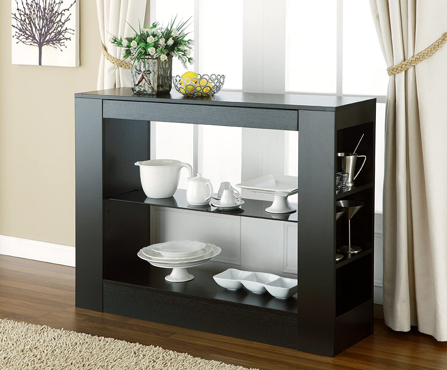Buffet Tables with Storage