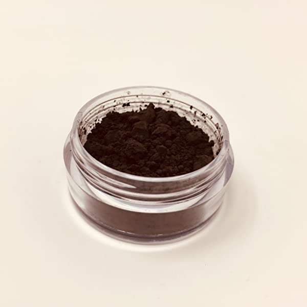 The Magic Chameleon Crafts Company. Thermochromic Temperature Activated Pigment - Multiple Colors and Different Temperature Changes Available. Changes at 88°F (31 °C) (2g, Black) (Color: BLACK, Tamaño: 2g)