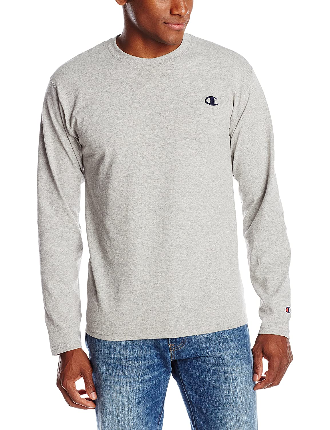 Champion Mens Long Sleeve Tee