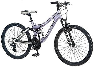 Mongoose Girl Maxim Full Suspension Bicycle