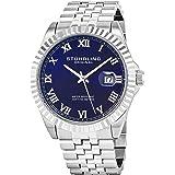 Stuhrling Original Men's 599G.03 Symphony Regent Coronet Stainless Steel Watch