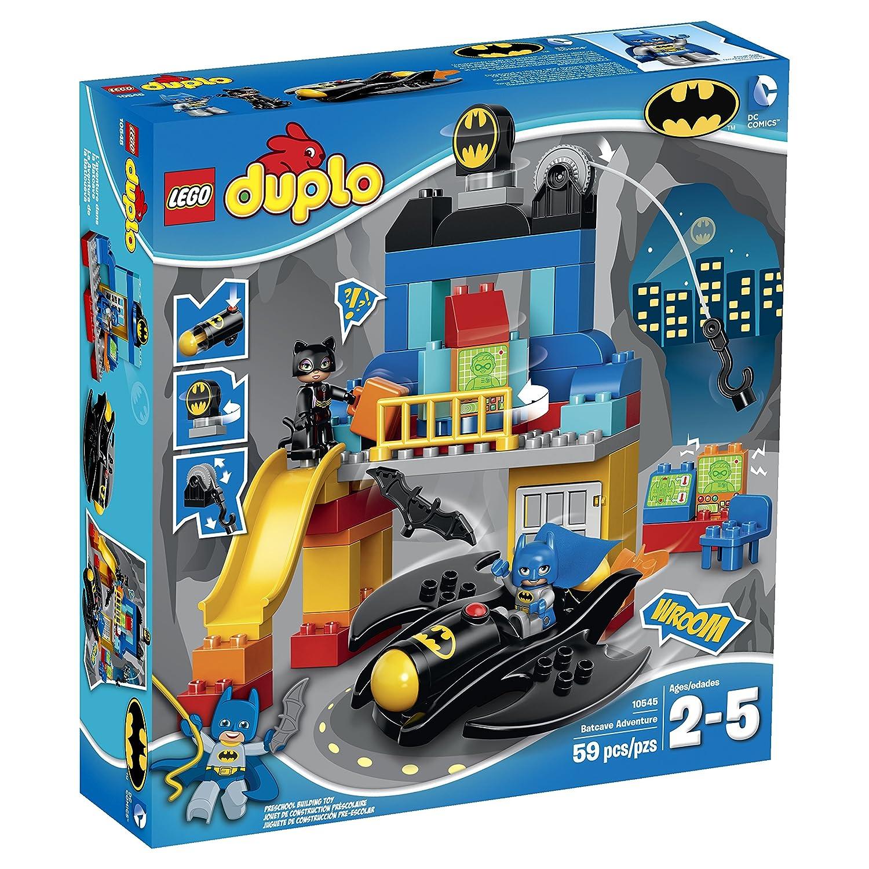 LEGO DUPLO Super Heroes Batcave Adventure Building Toy