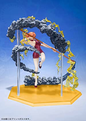 One Piece Nami Black Ball Bandai FiguartsZero Statue
