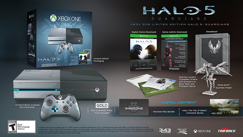 Xbox One Halo 5: Guardians Limited Edition 1TB Bundle Ret