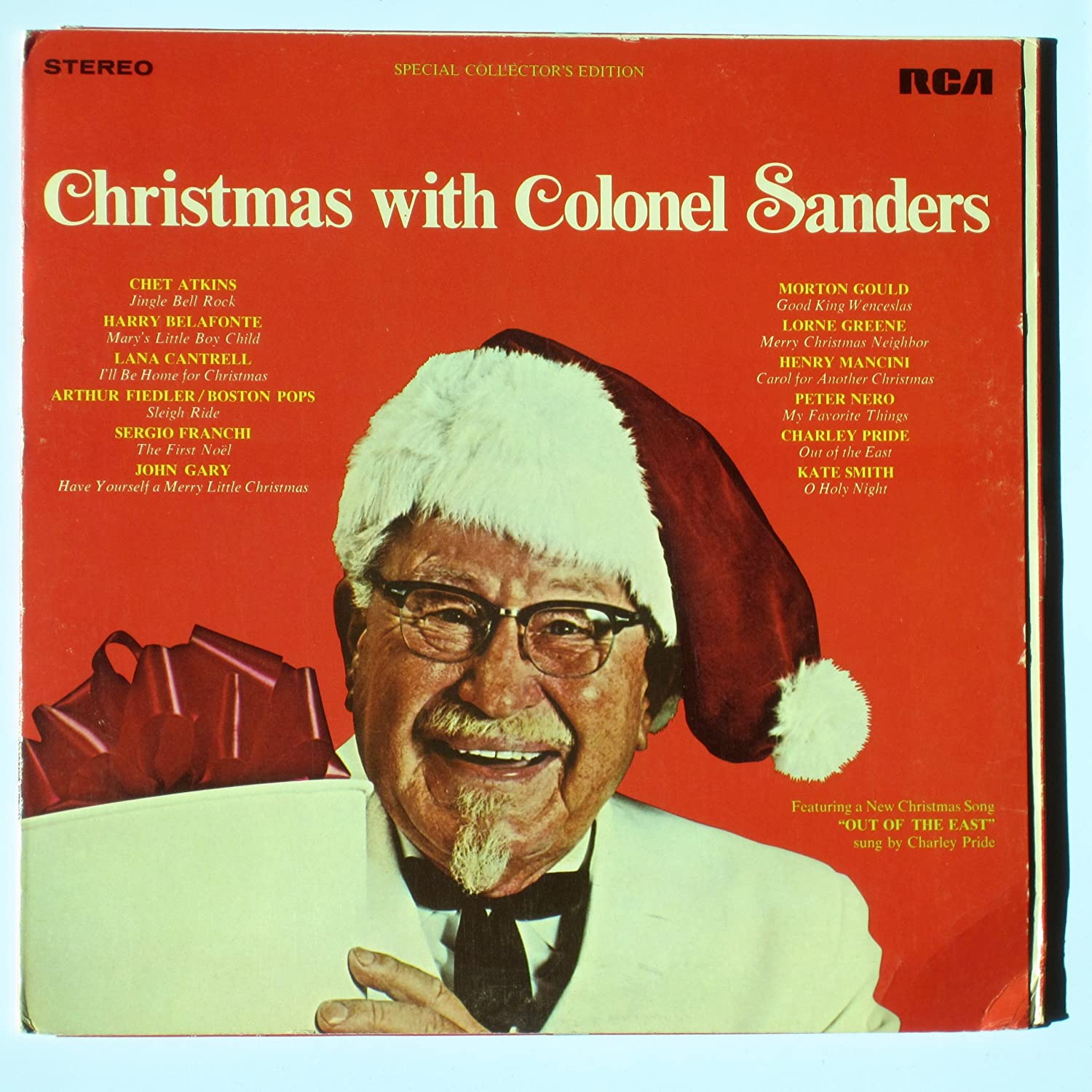 Colonel Sanders, Christmas albums